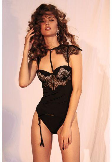 8163-616  Komplet damski (Body+Bolero) Anabel Arto