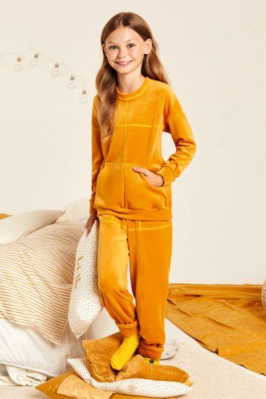 8144-6607 komplet młodzieżowy (bluzka+spodnie) Anabel Arto