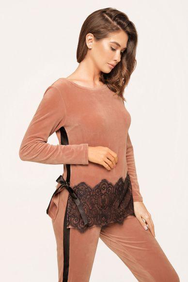 8163-6217-3  Komplet damski (bluzka + spodnie) Anabel Arto