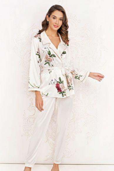 8165-6219-5  Komplet damski (bluzka + spodnie)  Anabel Arto