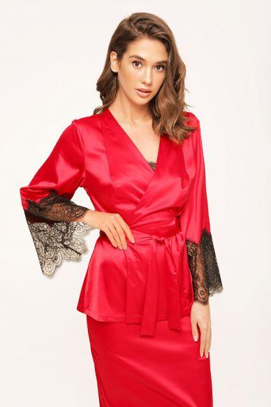 8163-6756 Kimono RED Anabel Arto