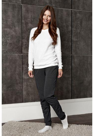6214 Komplet damski (bluzka + spodnie) Anabel Arto