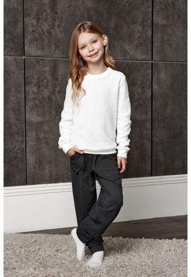 6414 Komplet dziewczęcy ( bluza + spodnie ) Anabel Arto