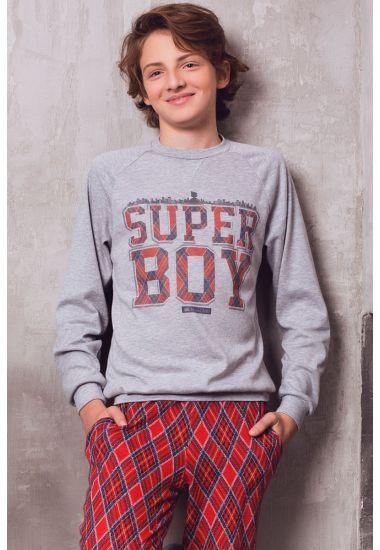 6515 Джемпер подростковый для мальчиков  Anabel Arto