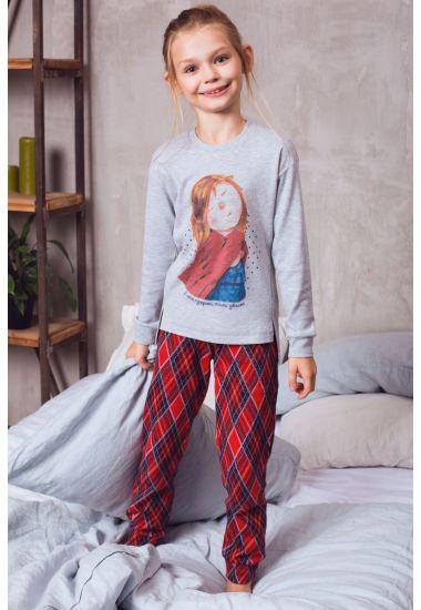 6415-4 брюки для девочек Anabel Arto