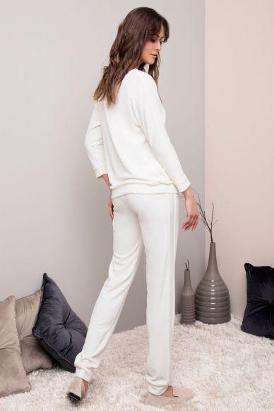 6216  Komplet damski (bluzka + spodnie) Anabel Arto