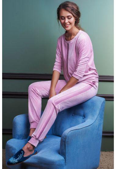 7017-6216 Komplet damski (bluzka + spodnie)