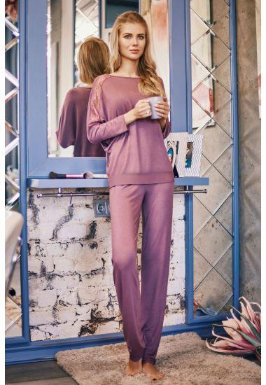 7028-6216-8  Komplet damski bluzka+spodnie Anabel Arto