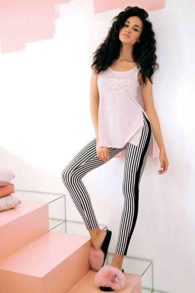 6217-2 Komplet damski koszulka+legginsy Anabel Arto